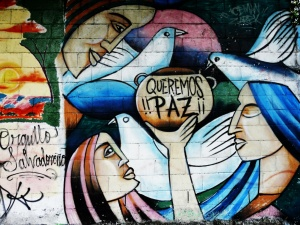UES, San Salvador, Street Art, Cooperation internationale